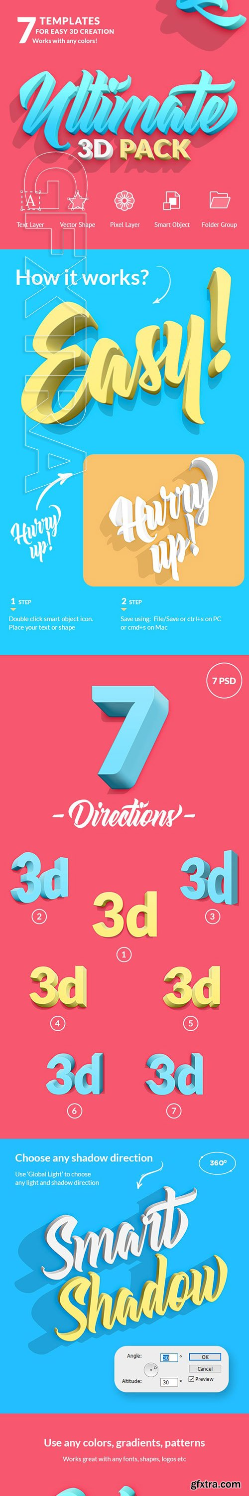 GraphicRiver - Ultimate 3D Pack 24764941