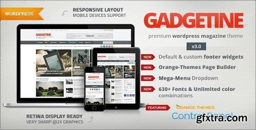 ThemeForest - Gadgetine v3.2.0 - WordPress Theme for Premium Magazine - 132954