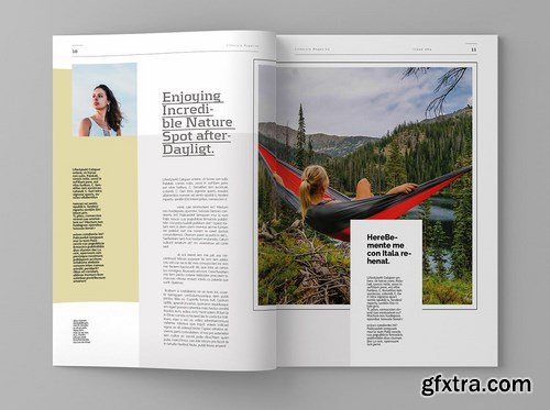Lifestyle - Magazine Template