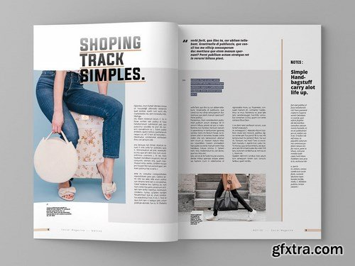 Motive - Magazine Template