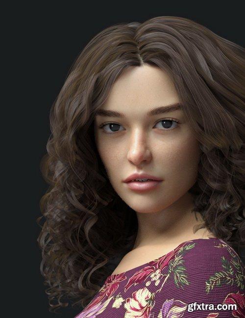 Daz3D - Bess HD for Genesis 8 Female