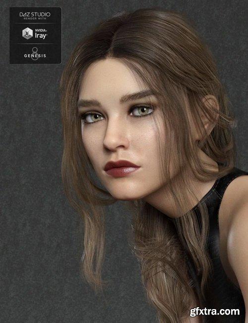 Daz3D - Gilia HD for Genesis 8 Female