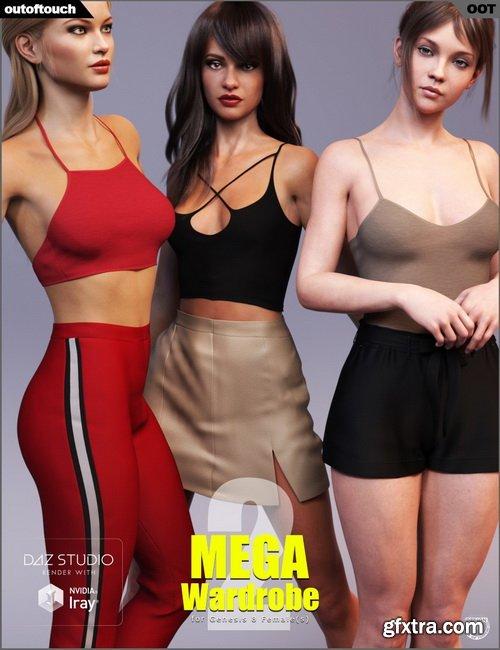 Daz3D - MEGA Wardrobe 2 for Genesis 8 Females