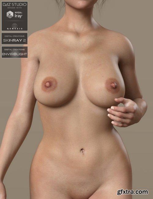 Daz3D - Anatomically Correct: Gabi for Genesis 3 and Genesis 8 Female
