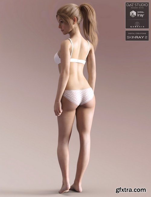 Daz3D - Anatomically Correct: Taylor for Genesis 3 and Genesis 8 Female