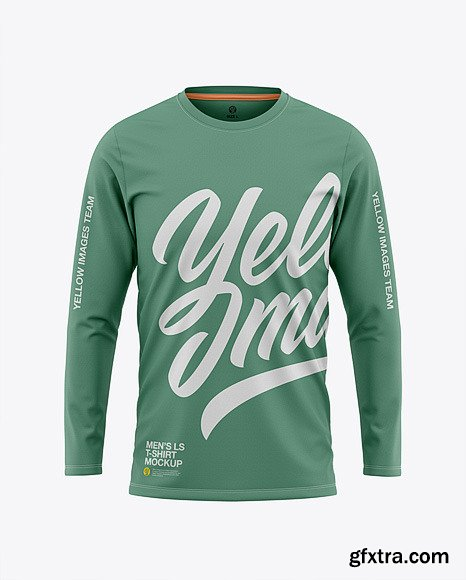 Download Men S Long Sleeve T Shirt Search Results Yellowimages Mockups