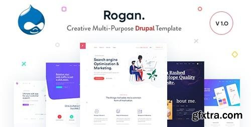 ThemeForest - Rogan v1.5 - Creative Multi-Purpose Drupal 8 Theme - 23494936