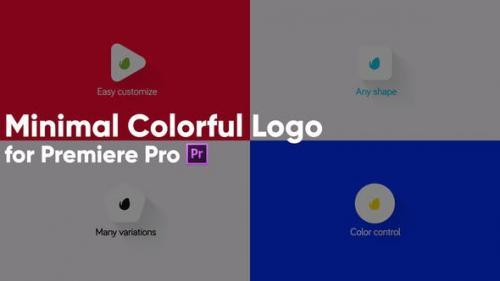 Udemy - Minimal Colorful Logo for Premiere Pro