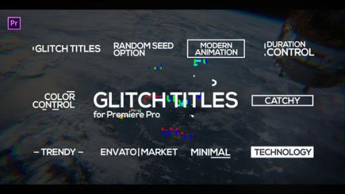 Udemy - Glitch Titles for Premiere Pro | Essential Graphics