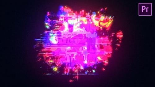 Udemy - Glow Glitch Logo Reveal