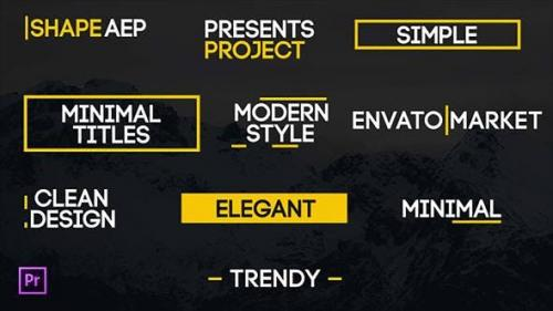 Udemy - Modern Titles for Premiere Pro | Essential Graphics