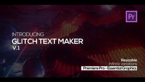 Udemy - Glitch Text Maker for Premiere Pro + Sound FX