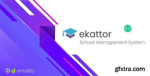 CodeCanyon - Ekattor v6.2 - School Management System - 6087521 - NULLED