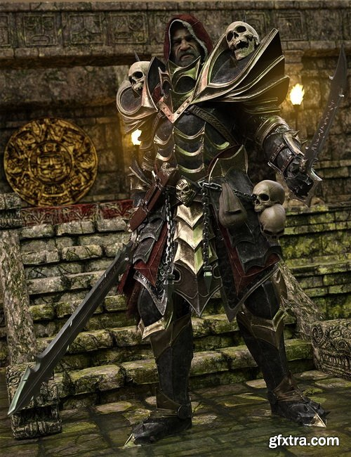 Daz3D - Dark Guard HD Bundle