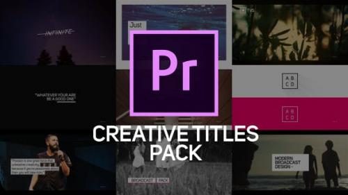 Udemy - Creative Titles & Lower Thirds for Premiere Pro