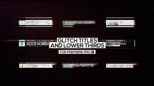 Udemy - Glitch Titles and Lower Thirds for Premiere Pro
