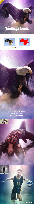 GraphicRiver - Fantasy Clouds CS3+ Photoshop Action 19192041