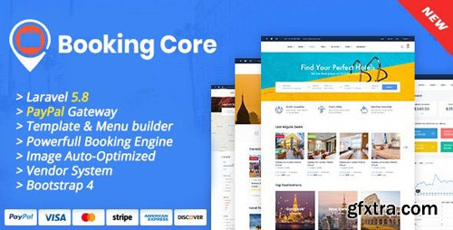 CodeCanyon - Booking Core v1.1.0 - Ultimate Booking System - 24043972