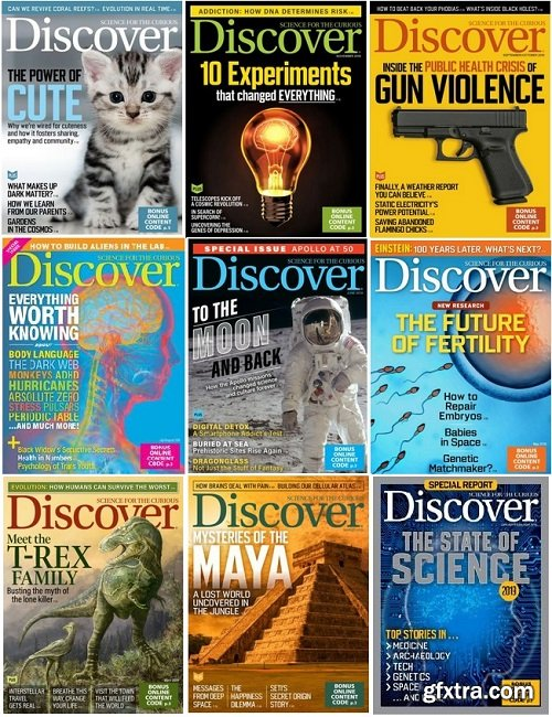 Discover - 2019 Full Year Issues Collection
