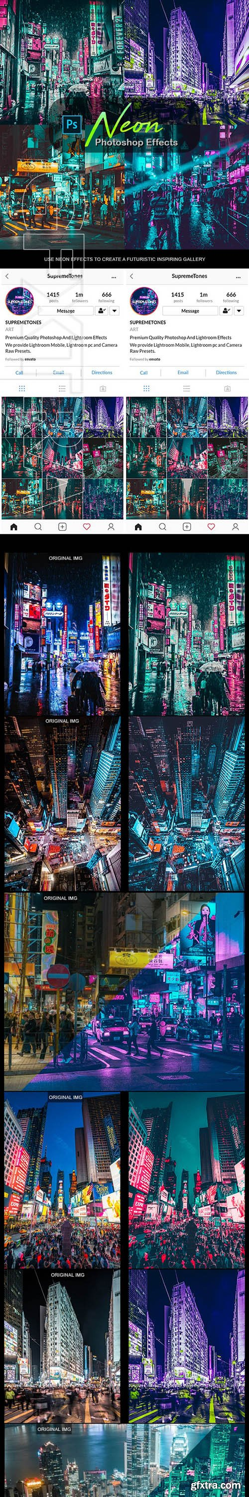 GraphicRiver - Neon Photoshop Effects 24736828