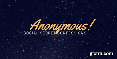 CodeCanyon - Anonymous - Secret Confessions (Update: 25 February 19) - 20583267