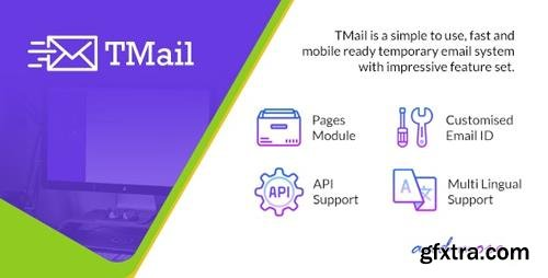 CodeCanyon - TMail v5.11- Multi Domain Temporary Email System - 20177819 - NULLED