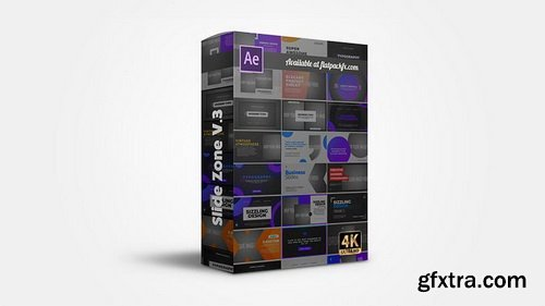 FlatPackFx - Slides Zone V3 - After Effects