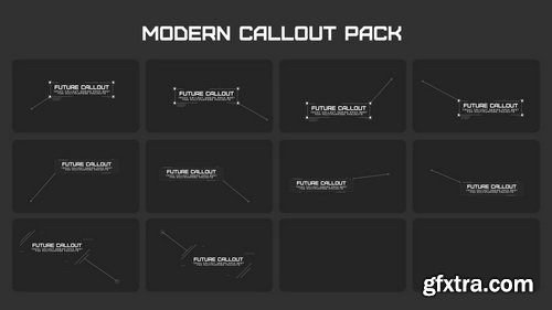 FlatPackFx - Modern Callout Pack - After Effects