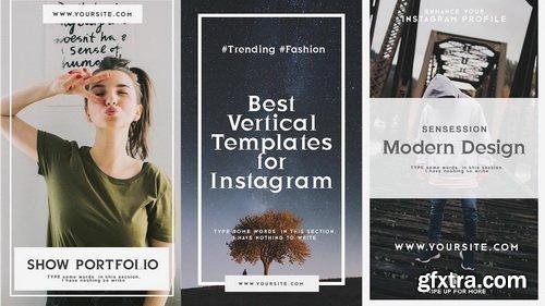 FlatPackFx - Instagram Stories V2 - After Effects