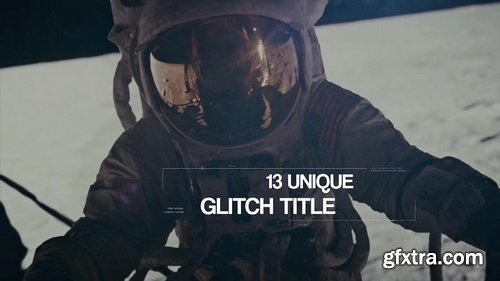FlatPackFx - Glitch Titles for Premiere Pro