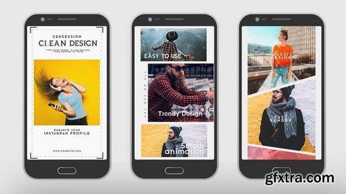 FlatPackFx - Instagram Stories V2 - Premiere Pro