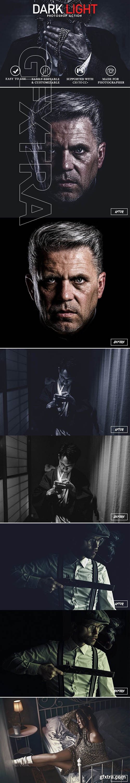 GraphicRiver - Dark Light Photoshop Action 24882595