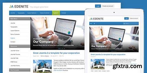 JoomlArt - JA Edenite II v1.0.3 - Simple & Clean Business Joomla Template
