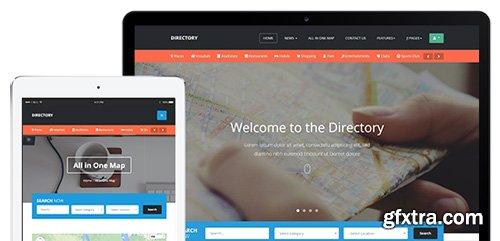 JoomlArt - JA Directory v1.0.9 - Responsive Joomla 3 Template For Directory Website