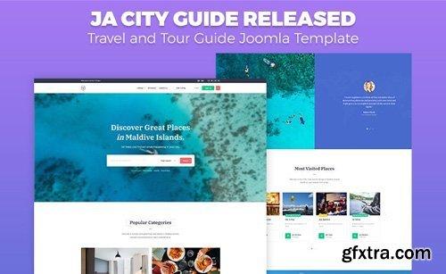 JoomlArt - JA City Guide v1.0.3 - Creative & Travel Tour Guide Joomla Template