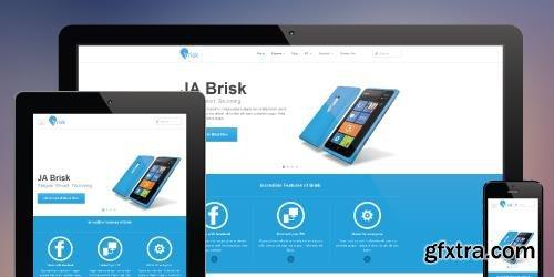 JoomlArt - JA Brisk v1.1.8 - Responsive Business Joomla Template