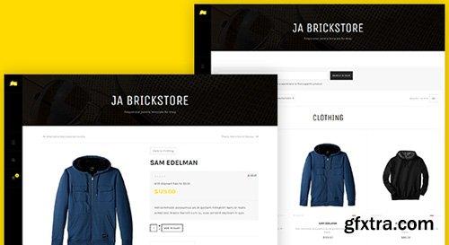 JoomlArt - JA Brickstore v1.0.8 - Best eCommerce Joomla Template