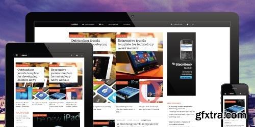 JoomlArt - JA Argo v1.1.7 - News Magazine Joomla Template