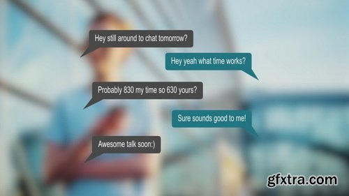 FlatPackFx - Speech Bubble Kit - After Effects