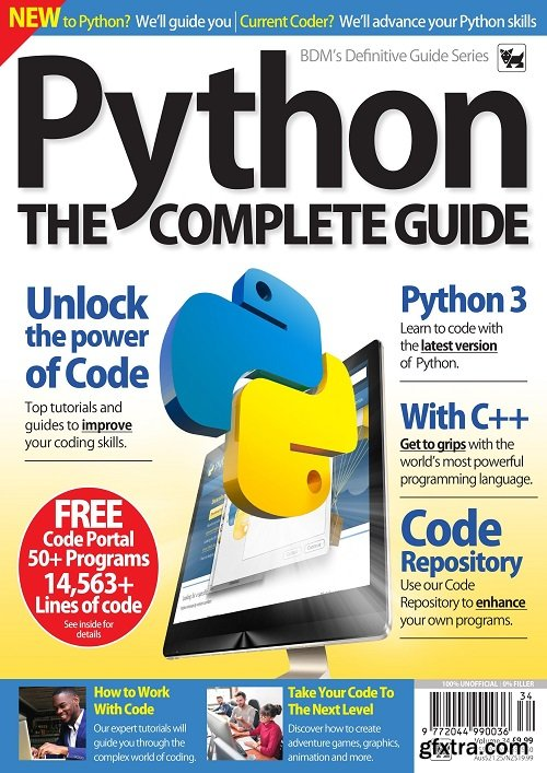 The Complete Python Manual - Vol 34 , 2019