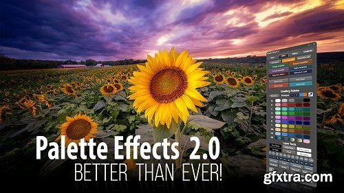 F.64 Elite - Palette Effects 2.0 Photoshop Panel