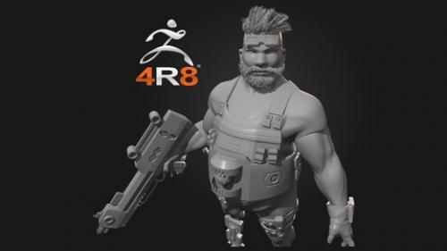 Udemy - ZBrush 4R8 ile 3D Karakter Modelleme