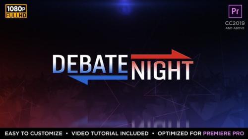 Udemy - Debate Night Elements   MOGRT for Premiere Pro
