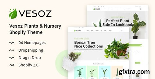 ThemeForest - Vesoz v1.0.0 - Plants And Nursery Shopify Theme - 24936929