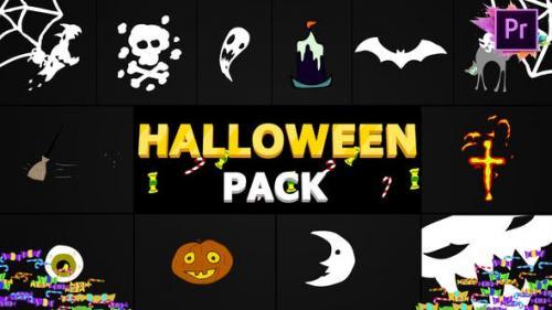 Udemy - Halloween Elements | Premiere Pro MoGRT