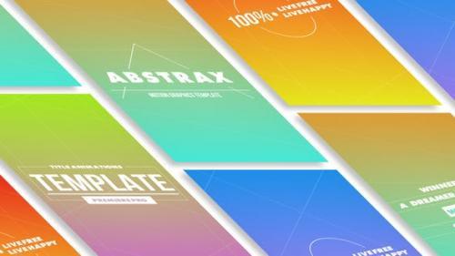 Udemy - Abstrax Titles MOGRT