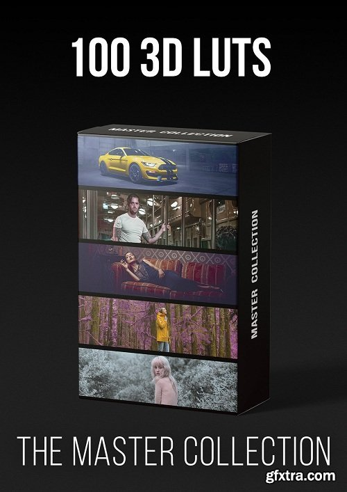 Master Collection All 10 Color Profiles Packs - 100 3D LUTS