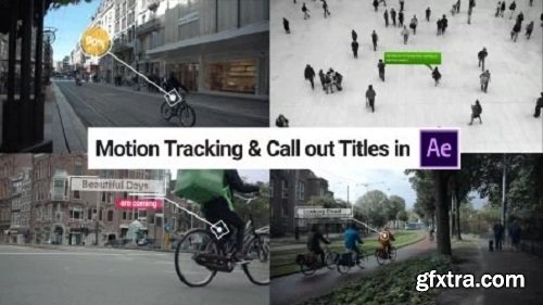 Advanced Motion Tracking & Call Out Titles in Adobe After Effect
