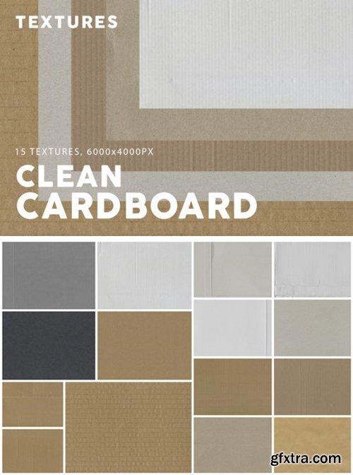 15 Clean Cardboard Textures 1958636