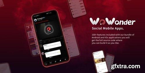 CodeCanyon - Mobile Native Social Timeline Applications - For WoWonder Social PHP Script v2.5.5.1 - 19703216